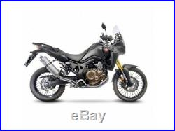 14220E Echappement LeoVince LV One Evo Inox HONDA CRF 1000 L AFRICA TWIN 16-17