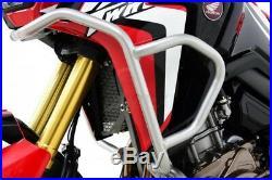 256521 Pare-Carter Carénage Honda Crf 1000 Africa Twin 16-17, Argent