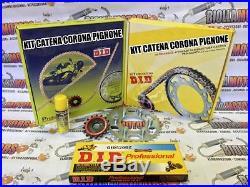 372835000 KIT COURONNE PIGNON CHAÎNE DID HONDA 650cc XRV 650 Africa Twin 88-90
