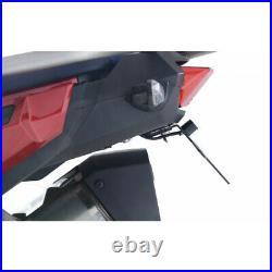 4450991 Support de plaque R&G RACING noir Honda Africa Twin Adventure Sport