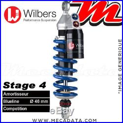 Amortisseur Honda CRF 1000 L Africa Twin (2017) Wilbers Stage 4 Blueline