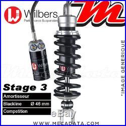 Amortisseur Honda XRV 750 R Africa Twin (1999) Wilbers Stage 3 Blackline