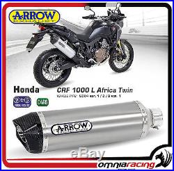 Arrow Aluminium Honda Africa Twin 1000 2016 Pot D'Echappement Auspuff 72621AK