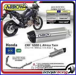 Arrow Echappement Complete Allu approuve Honda CRF 1000L Africa Twin 2016