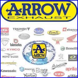 Arrow Ligne Complete Hom Race-tech Titanium Honda Crf 1000 L Africa Twin 2017 17