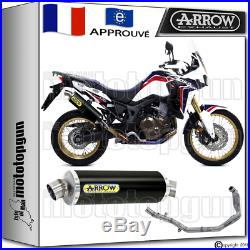 Arrow Ligne Complete Maxi Racetech Black Hom Honda Crf 1000 Africa Twin 2016 16