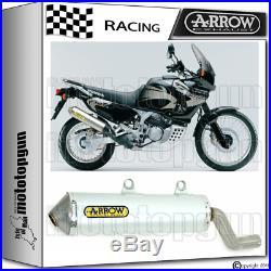 Arrow Pot D'echappement Enduro Alumilite Race Honda Xrv 750 Africatwin 1996 96