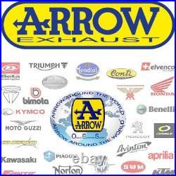 Arrow Pot Echappement Approuve Paris Dacar Honda Xrv 750 Africa Twin 2004 04