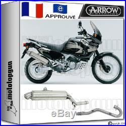 Arrow Silencieux Complete Paris Dacar Acier H Honda Xrv 750 Africa-twin 2001 01