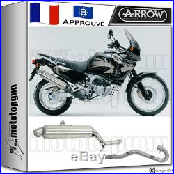 Arrow Silencieux Complete Paris Dacar Acier H Honda Xrv 750 Africa-twin 2002 02