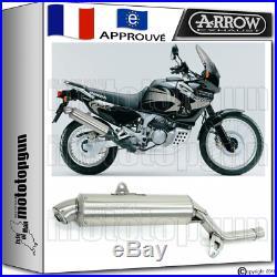 Arrow Silencieux Paris Dacar Acier Hom Honda Xrv 750 Africatwin 2000 00 2001 01