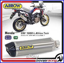Arrow Titane Honda Africa Twin 1000 Pot D'Echappement Auspuff 72621PK
