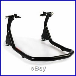 Béquille d'atelier Moto arrière V4 L pour Honda Africa Twin CRF 1000 L noir