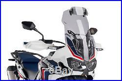 Bulle Touring Avec Visiere Puig Honda Cbrf1000l Africa Twin 16'-17' Fume Clair