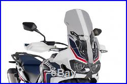 Bulle Touring Puig Honda Crf1000l Africa Twin 16'-18' Fume Clair