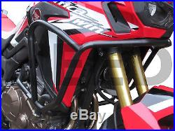 Crash Bars Pare carters Heed HONDA CRF 1000 Africa Twin Basic + Sacs