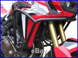 Crash Bars Pare carters Heed HONDA CRF 1000 Africa Twin Basic noir