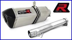 Dominator Silencieux Pot D'echappement Hp1 Honda Xrv Africa Twin 750 + Db Kiler