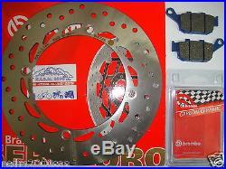 Frein à Disque Brembo + Plaquettes Arrière Honda 750 XRV Africa Twin 1992 1993