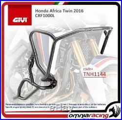 GIVI moteur Guard noir 25 mm diameter acier tube Honda CRF1000L Africa Twin 16