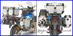 Givi Case Dolomiti Dlm30b + Valise Laterale Obkn37b Honda Africa Twin 2018 18