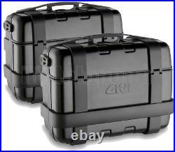 Givi Top Case Trk46b + Valise Laterale Trk33b Honda Crf1000l Africa Twin 2018 18