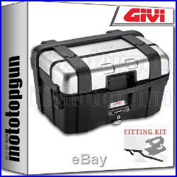 Givi Valise Top Case Monokey Trk46n Trekker For Honda Africa Twin 750 2002 02