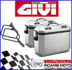 Givi Valises Latéral All. DLM36 + Supports Honda CRF1100L Africa Twin Adv S 2020