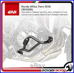 Honda CRF 1000 Africa Twin 16 DCT Pare-moteur GiVi Tubulaire Inox TN1151 CRF1000