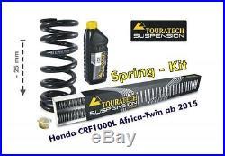 Honda CRF1000L Africa Twin à partir de 16 Abaissement um 25mm a travers