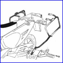 KAPPA KL148 Frames Pour Valises Monokey Honda Africa Twin 750 (9395)