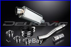 KIT-Silencieux 225mm Ovale Inox pour Honda XRV750 Africa Twin (1993-2003)