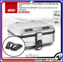 Kit Givi Top Case Valise DLM30 + plaque HONDA CRF1000L AFRICA TWIN 1617