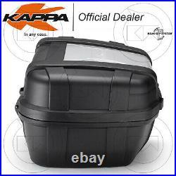 Kit Top-case Kappa Garda 52l + Platine Monokey Honda Africa Twin 750 1990-1992