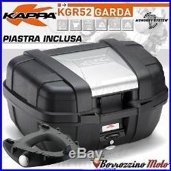 Kit Top-case Kappa Garda 52l + Platine Monokey Honda Africa Twin 750 1994-1995