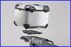Kit Topcase TRAX ADV. Gris 38L Sw-Motech Honda CRF1000L Africa Twin (15-)