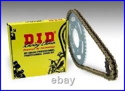 Kit chaine transmission DID HONDA XRV750 AFRICA TWIN 1990 1992 16/46 moto