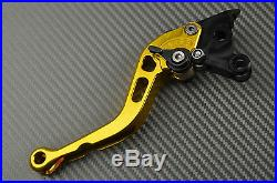 Leviers court short levers CNC gold or Honda toutes Africa TWIN 750 XRV