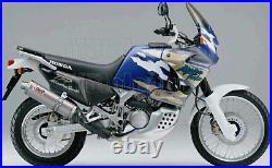 MIVV Pot D Echappement Hom Oval Titanium Honda Xrv 750 Africa Twin 1997 97
