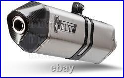 MIVV Pot D Echappement Hom Speed Edge CC Honda Crf 1000 L Africa Twin 2016 16