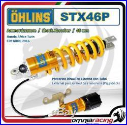 Ohlins STX46P Mono Amortisseur +préchargement Est Honda CRF1000L Africa Twin 16