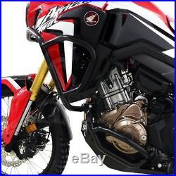 Pare Cylindre Honda Africa Twin CRF 1000 L 16-18 Set noir Protège