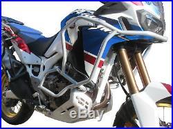 Pare carters Heed HONDA CRF 1000 Africa Twin Adventure Sports DCT argenté + Sacs