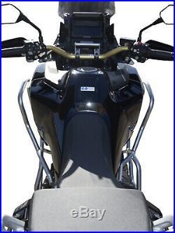 Pare carters Heed HONDA CRF 1100 Africa Twin Adventure Sports DCT argenté + Sacs