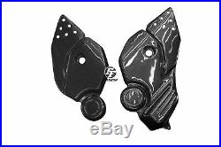 Platines repose-pieds Carbone pour Honda CRF 1000 L Africa Twin