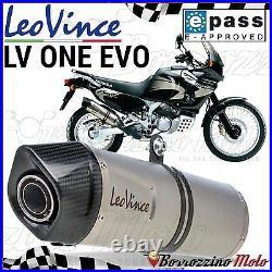 Pot D' Echappement Approuve Leovince LV One Evo Honda Xrv Africa Twin 750 2000