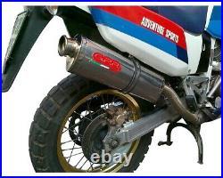 Pot d'Echappement GPR TRIOVAL Approuvé HONDA AFRICA TWIN 750 RD04 1990 1992