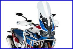 Puig Bulle Touring-supporto Honda Africa Twin Adventure Sports 2019 Transparent