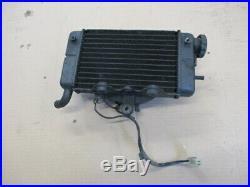 Radiateur d'eau droit + ventillateur Honda 750 Africa twin XRV RD04