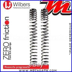 Ressorts de Fourche Wilbers HONDA XRV 750 Africa Twin 1996 Prog. Zero Friction